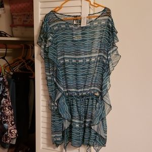 Jessica Simpson Bathing Suit Cover Up MEDIUM